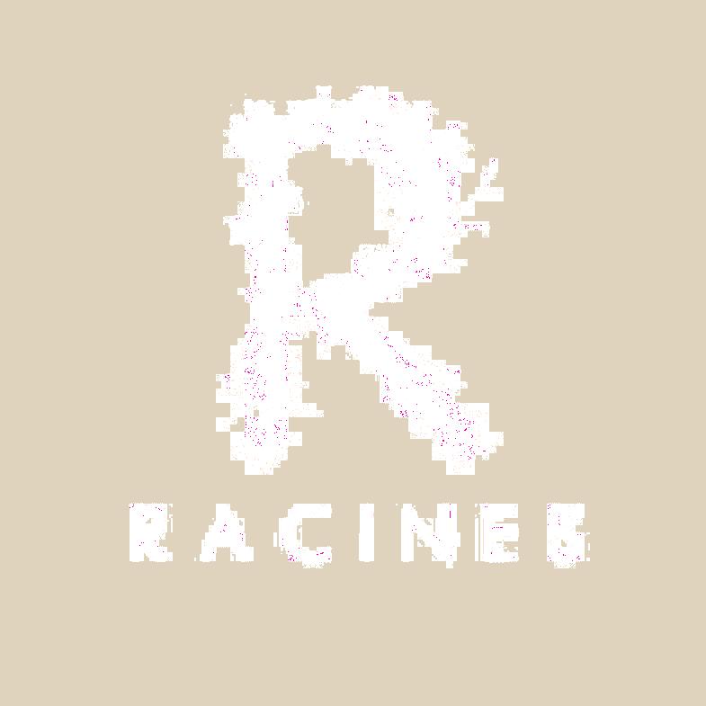 logo racine blanc